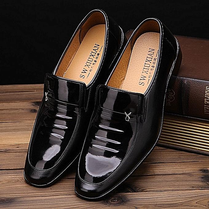 Fashion Fashion Simple Pair Of Men's chaussures - noir à prix pas cher    Jumia Maroc