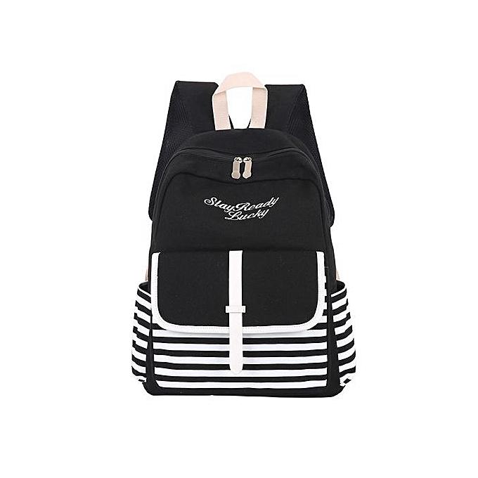 mode Singedanashion School Japan And Korean Preppy Style sac à dos Girls Fresh Style -noir à prix pas cher