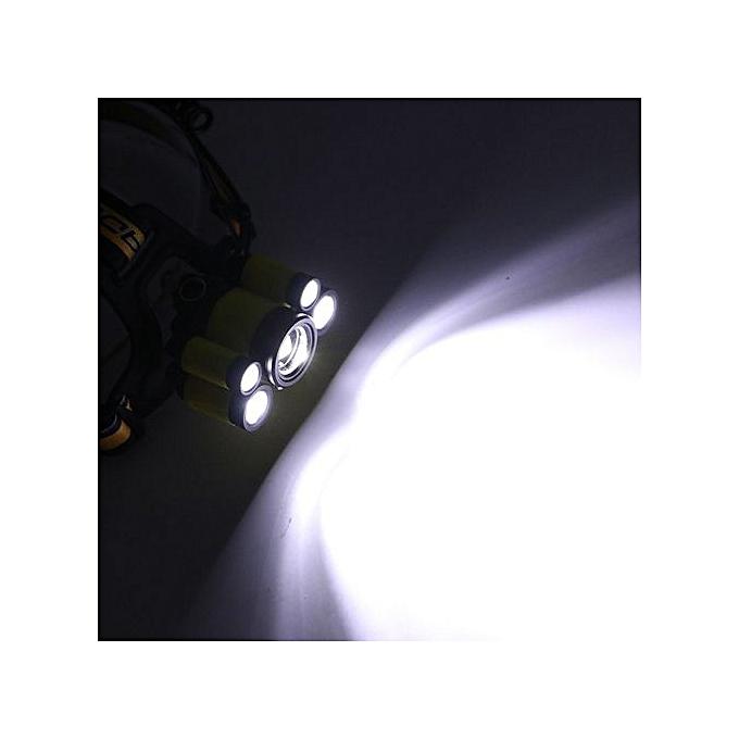 Generic Xiuxingzi_New 3XML-T6+2XPE LED USB Headlamp 2X18650 Head Light Torch Flashlight à prix pas cher