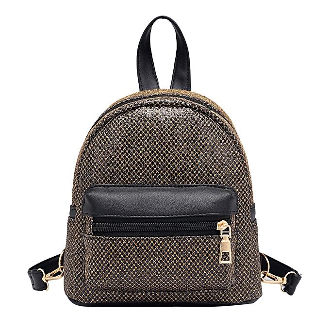Fashion Singedan Shop Fashion femmes Girl Bling Sequins Mini Backpack Female Travel Rucksack School Bag à prix pas cher