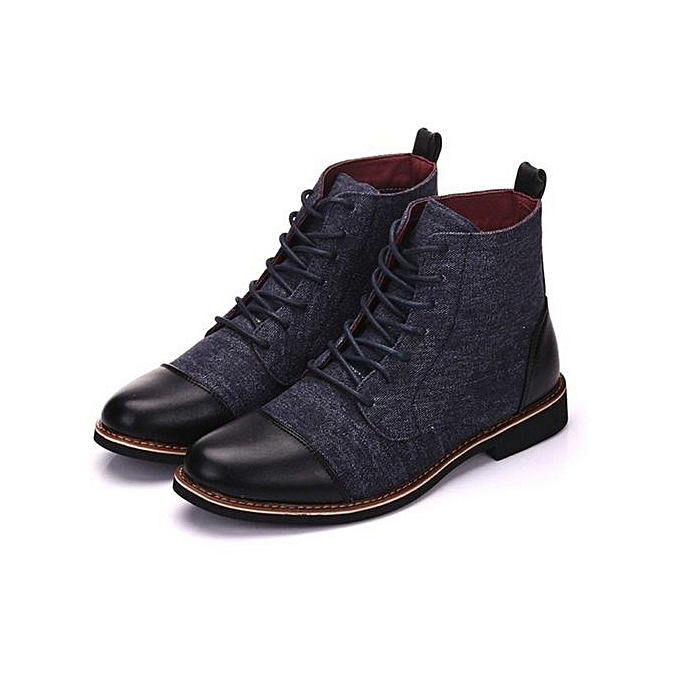 Other Big yards Men Leather bottes Martin bottes à prix pas cher    Jumia Maroc