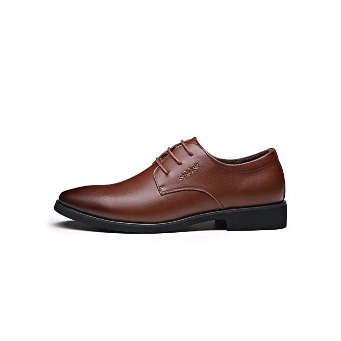 Zant 2018 Genuine Leather  's Casual Shoes Slip-on Slip-on Shoes Moccasins Shoes   Formal Shoes à prix pas cher  | Jumia Maroc 849738