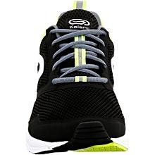 Chaussure Course a Pied Homme Run Active Noir Jaune da19be3a6f
