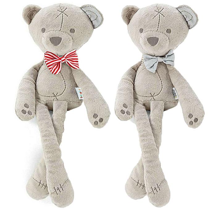 Autre Newest Hot Soft Long Feet Bear Plush Toy Animal Bowtie Bear Stuffed Baby Kids Toddlers Doll(rouge) à prix pas cher