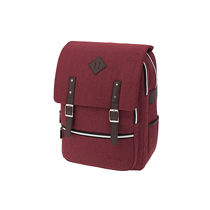 Generic SAC A DOS POLO GROOVY ROUGE à prix pas cher