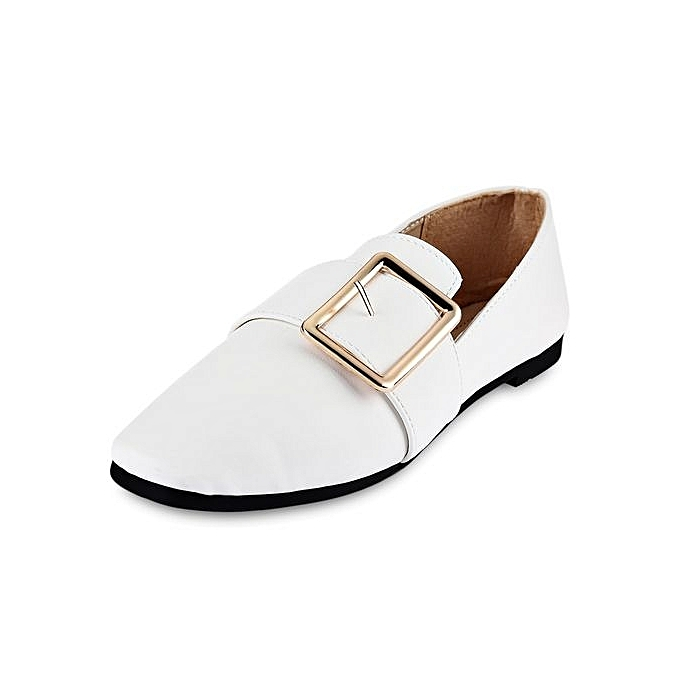 Fashion Casual Square Buckle EmbellishHommes EmbellishHommes EmbellishHommes t   Flat Shoes à prix pas cher  | Jumia Maroc 412f02