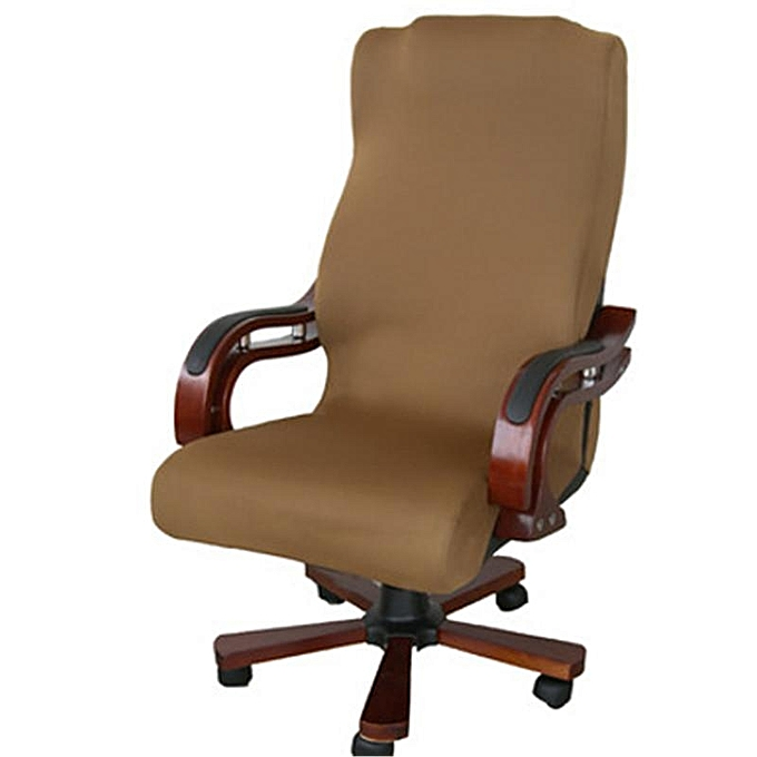 UNIVERSAL Swivel Computer Chair Cover Stretch Office Armchair Prougeector Seat Decoration(Chair Is Not Included) à prix pas cher