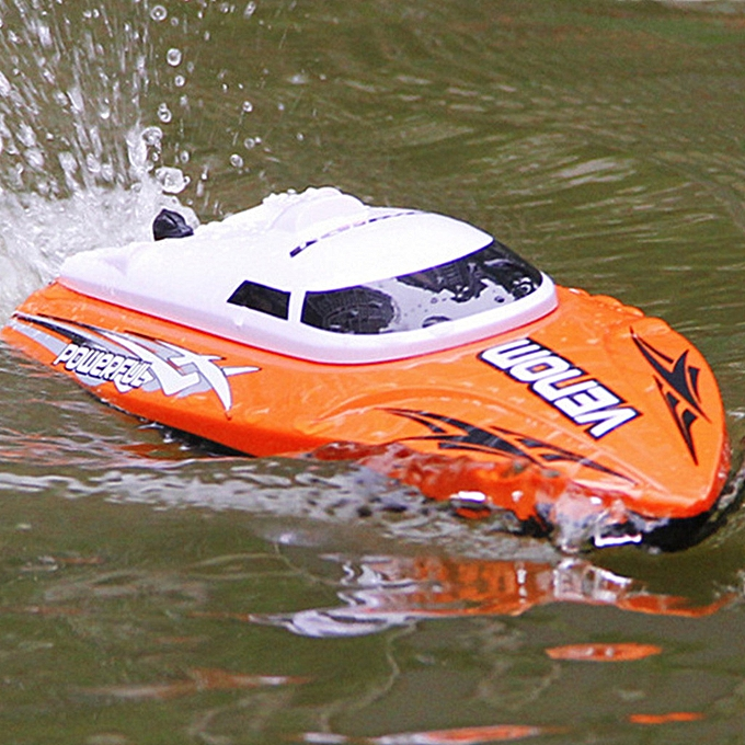 Generic High Speed RC Boat 2.4GHz 4 Channel Racing Remote Control Boat à prix pas cher