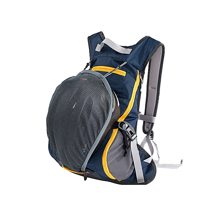 UNIVERSAL Bicycle Backpack Riding Traveling Sports Mountaineering Double Shoulders Backpack Bag(Dark bleu) à prix pas cher