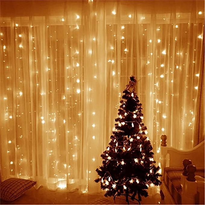 UNIVERSAL LED Strip Praty Decorations Lights Curtain Garlands Bulb Lamp Home Fairy Lights Warm blanc à prix pas cher