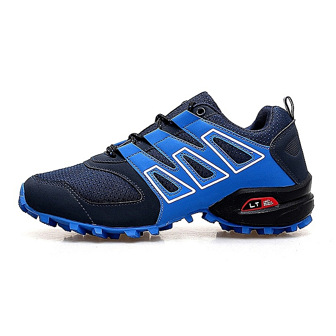 Other Stylish  Men's Breathable Mesh Sports chaussures Outdoor Mountaineering chaussures-bleu à prix pas cher