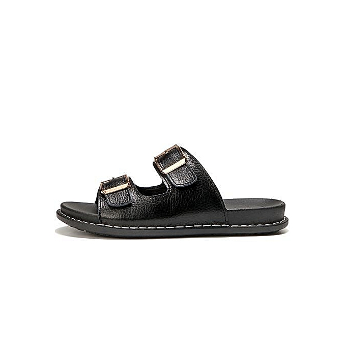 Fashion Slippers Slippers Slippers WoHommes  Beach Shoes For   Sandals -Black à prix pas cher    Black Friday 2018   Jumia Maroc b3d8e1