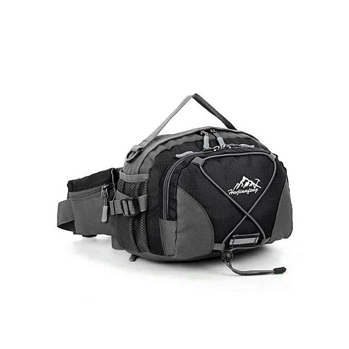 Generic Haojks-imperméable FonctionneHommest Belt  Waist Pouch Fanny Pack Sport Hiking Shoulder sac à prix pas cher