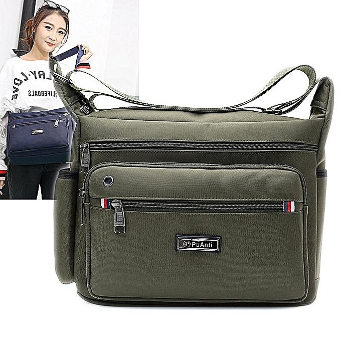 Fashion hommes Single Shoulder Bag New Korean Version Waterproof Nylon Crossbody Bag Outdoor Leisure Travel Single Shoulder Backpack à prix pas cher