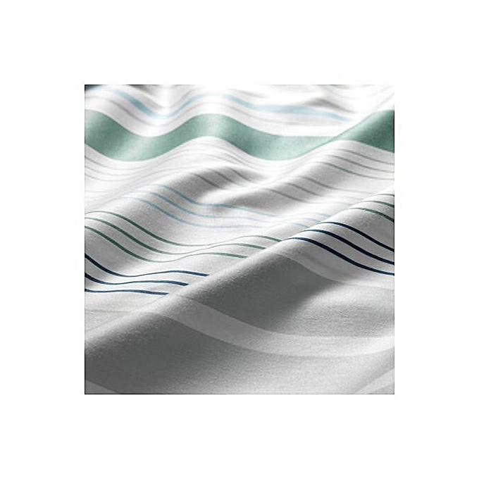 ikea housse de couette et 2 taies d 39 oreiller bleu multicouleur ray e 240x220 50x60 cm prix. Black Bedroom Furniture Sets. Home Design Ideas