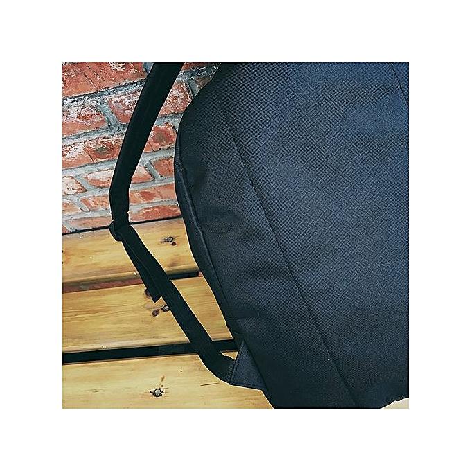 mode femmes Girls toile Embroidery School sac voyage sac à dos sac  BK -noir à prix pas cher
