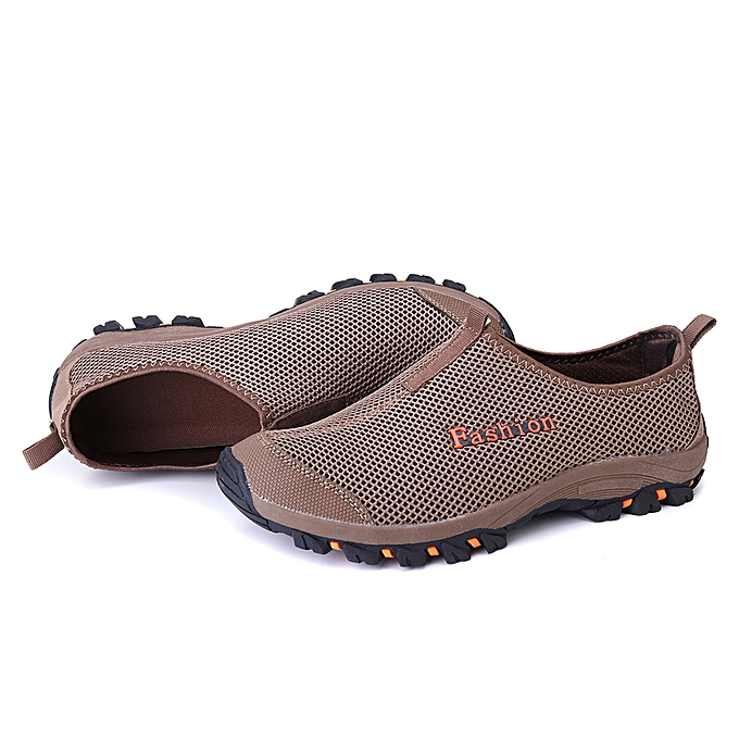 Fashion Men's chaussures baskets Loafers Non-slip Casual Walking Outdoor Camping Climbing à prix pas cher