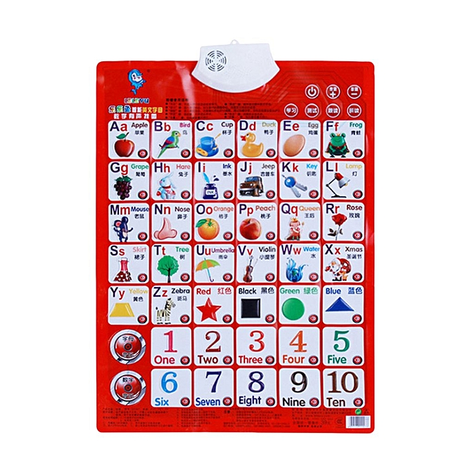 Generic Sound Wall Chart Electronic Multifunction Learning Educational Toys à prix pas cher