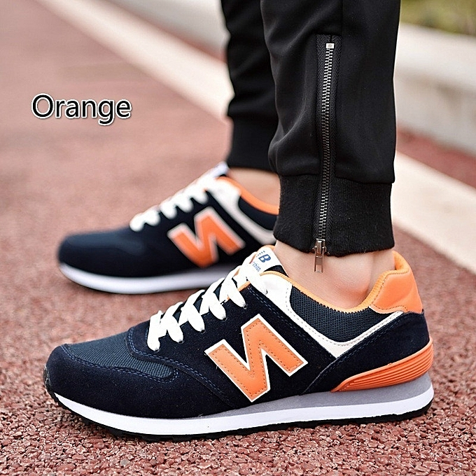 Other Stylish Classic Letters Men's Breathable Running chaussures à prix pas cher