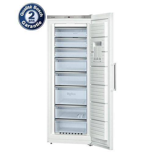Bosch cong lateur armoire gsn58aw30 acheter en ligne for Acheter un congelateur armoire