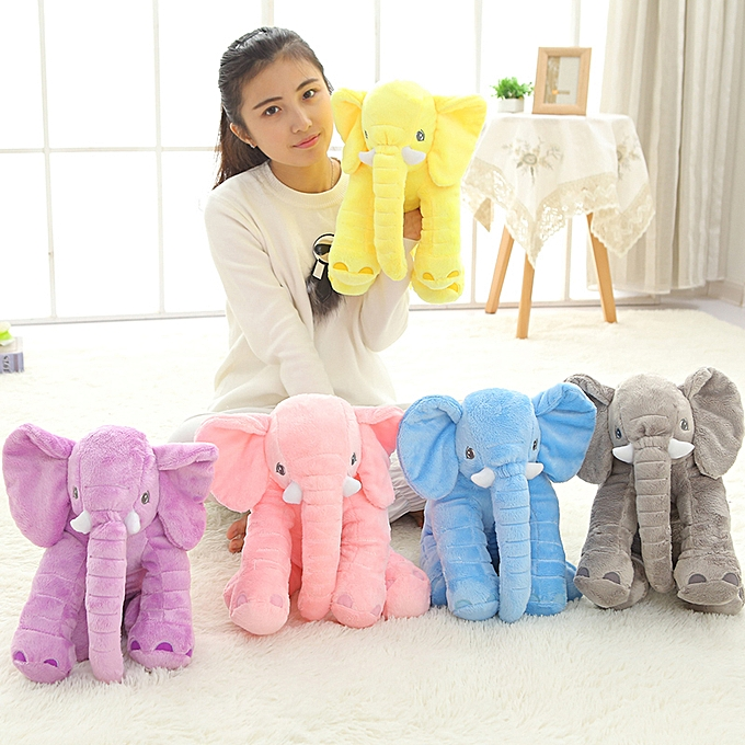 Autre 1pc 40cm nouveau mode Animals toys Stuffed Soft Elephant PilFaible   Sleep Toys Room Bed Decoration Plush Toys for Enfants(bleu) à prix pas cher