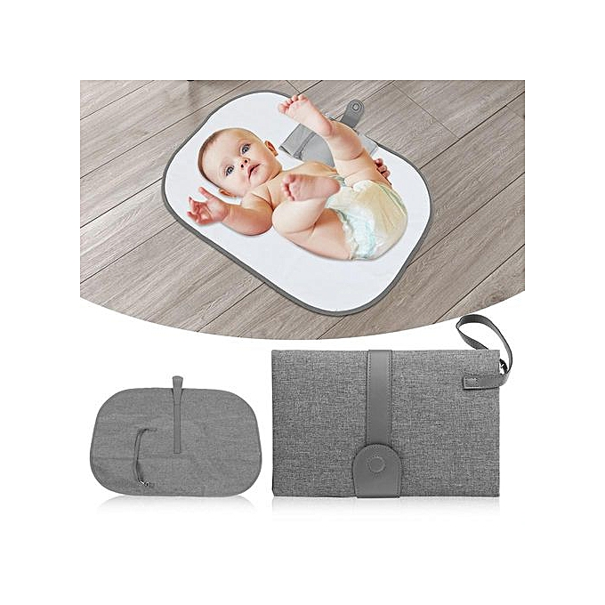 Other portable   Diaper Changing Pad With Pockets Infant Toddler imperméable Foldable Mat ( 2) à prix pas cher