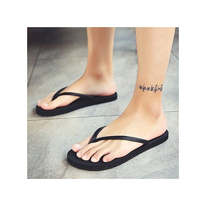 Fashion  's Summer Flip-flops Slippers Beach Sandals Indoor&Outdoor Casual Casual Indoor&Outdoor Shoes à prix pas cher  | Jumia Maroc a96df7