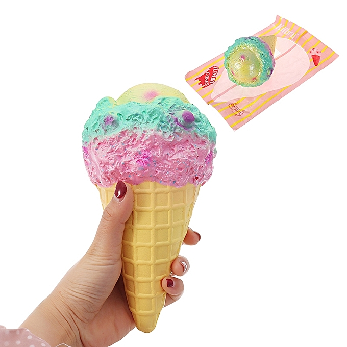UNIVERSAL Kiibru Squishy  Ice Cream 18.5cm Licensed SFaible Rising With Packaging Collection Gift Soft Toy- à prix pas cher