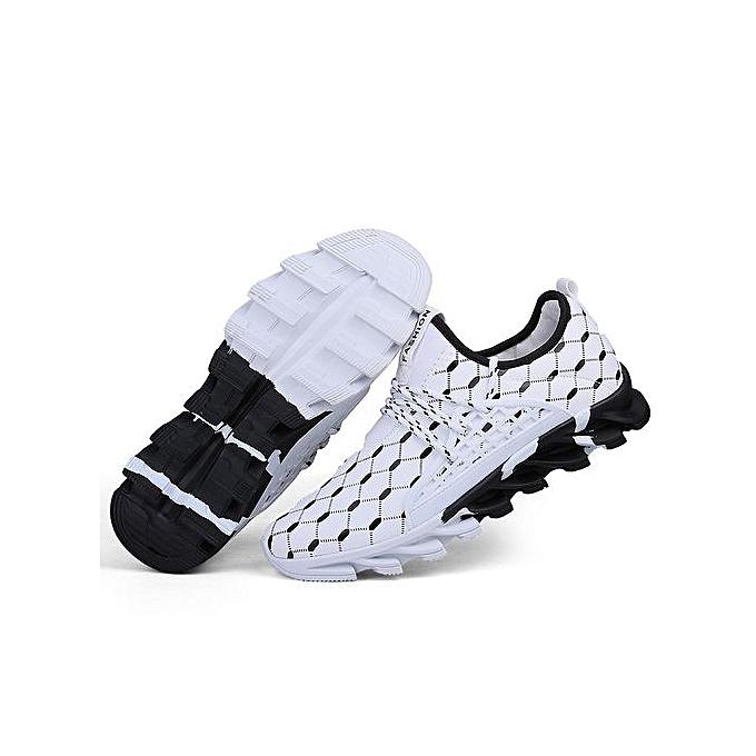 Fashion  s Air Mesh Sport Shoes Daily Sneakers-White à Jumia prix pas cher  | Jumia à Maroc 2693a7