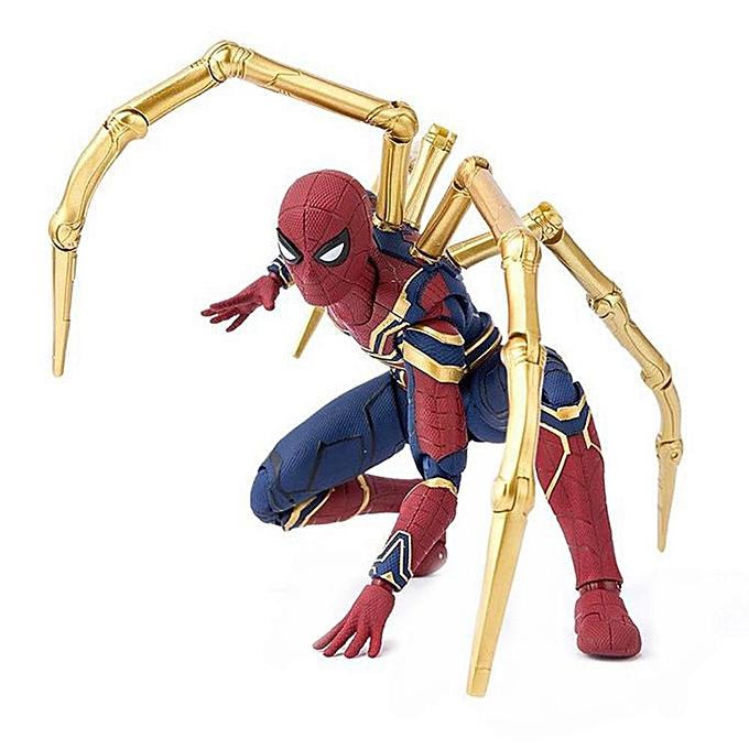 Autre Alink Spider-Man Toy Figure Collection Modèle Modèle Cadeau de mobilité pour les articulations Décor de bureau à prix pas cher