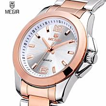 e6e80724a4800 Famous Brand MEGIR Luxury Ladies Watch Brand Women Watches Fashion Quartz  Wristwatch Montre Femme Clock Female