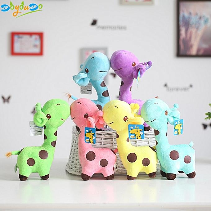 Autre 18cm Cute   Toys  Giraffe Plush Toys Dolls For Enfants Brinquedos Kawaii Gift For   Christmas Gifts(lumière vert) à prix pas cher