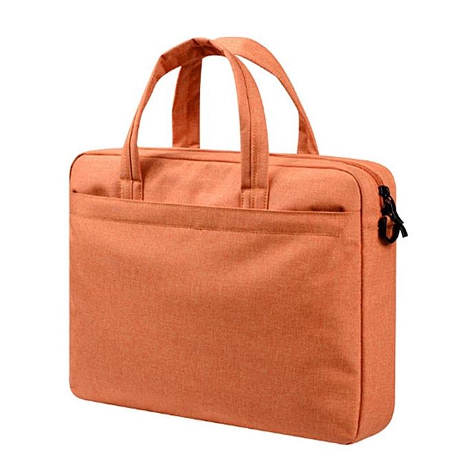 Other 2019 Laptop Affaires Shoulder sac Wholesale 13 14 15.6 Inch Handsac Briefcase For Computer(Orange) à prix pas cher