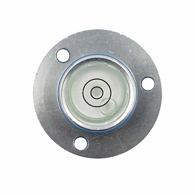 Autre HACCURY 342012mm Metal Shell Bullseye Level Measurement Instrument Universal level Circular bubble level à prix pas cher