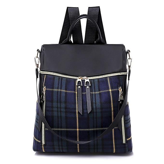 Generic 426   Shoulder sac PU cuir femmes Girls Ladies sac à dos voyage sac à prix pas cher