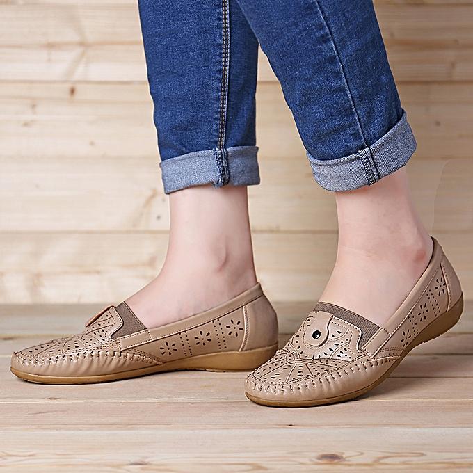 Fashion Wohommes chaussures pedal lazy casual flat peas chaussures à prix pas cher    Jumia Maroc