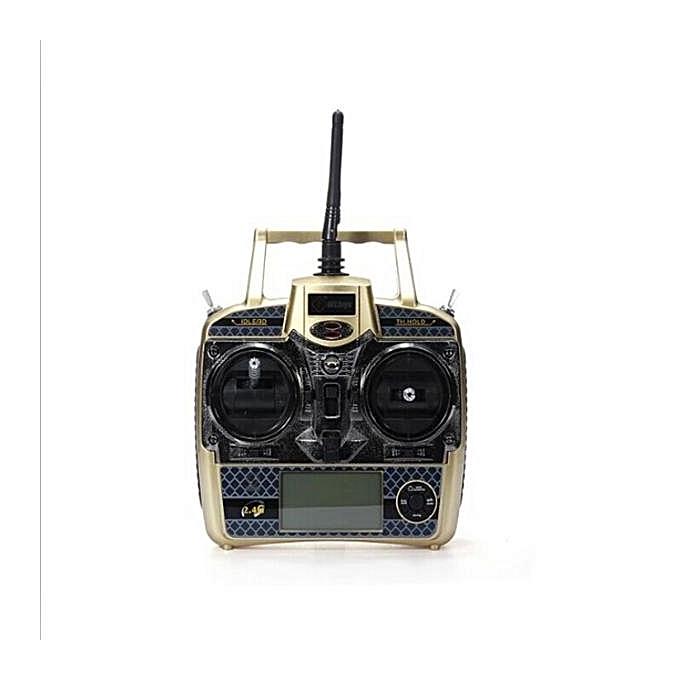 UNIVERSAL WLtoys V966 V950 V977 V931 RC Helicopter Parts Transmitter noir à prix pas cher