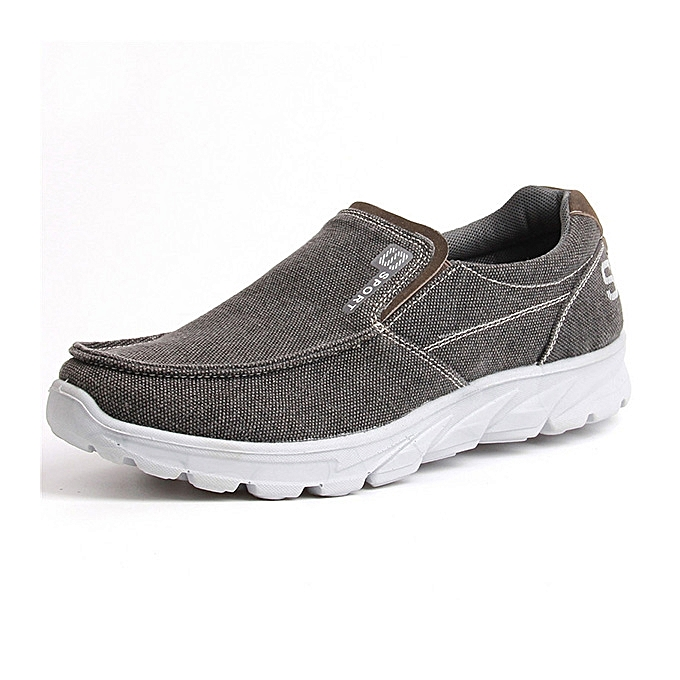 Fashion Large Taille Comfy Cloth Light Weight Casual Slip On baskets for Men à prix pas cher