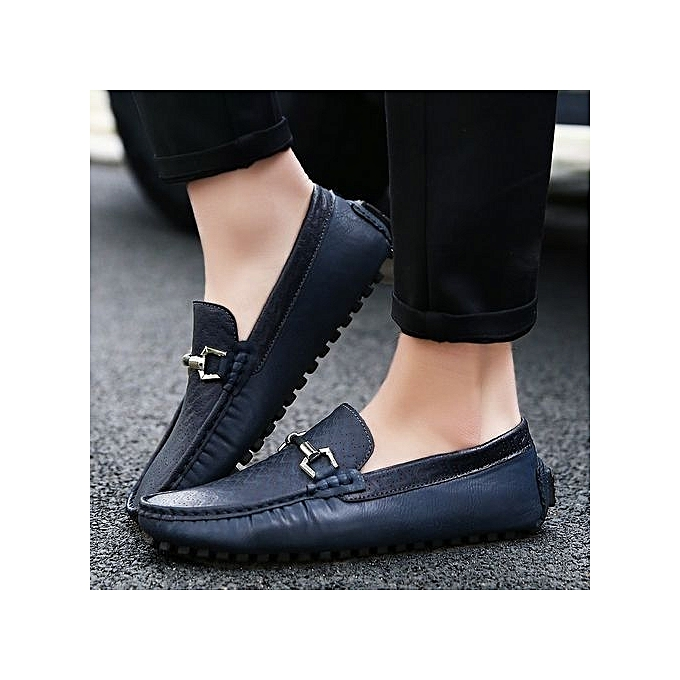 Fashion New  's Genuine Leather Shoes Breathable Anti-skid Wear-resistant Casual Shoes Formal Shoes Leather à prix pas cher  | Jumia Maroc b6584d