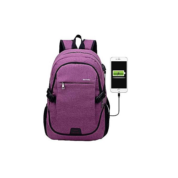 mode SingedanLaptop sac à dos For Hommes And femmes, femmes sac -violet à prix pas cher