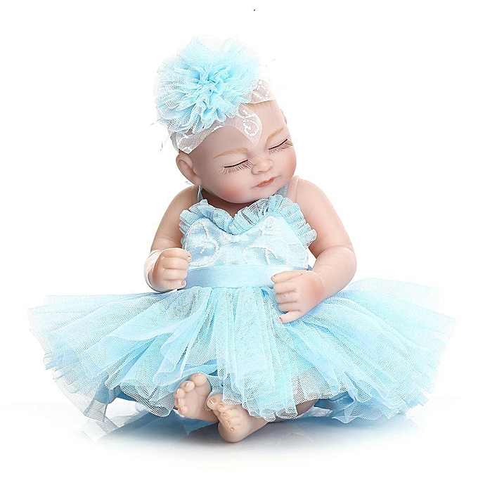 Autre Kids Soft Silicone Realistic With Clothes Girl Reborn Baby Doll à prix pas cher