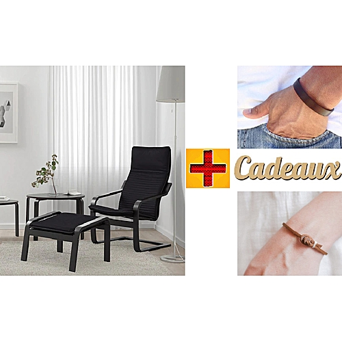Ikea Fauteuil Chaise Relax Fauteuil à Bascule Deux Bracelet En Cuir