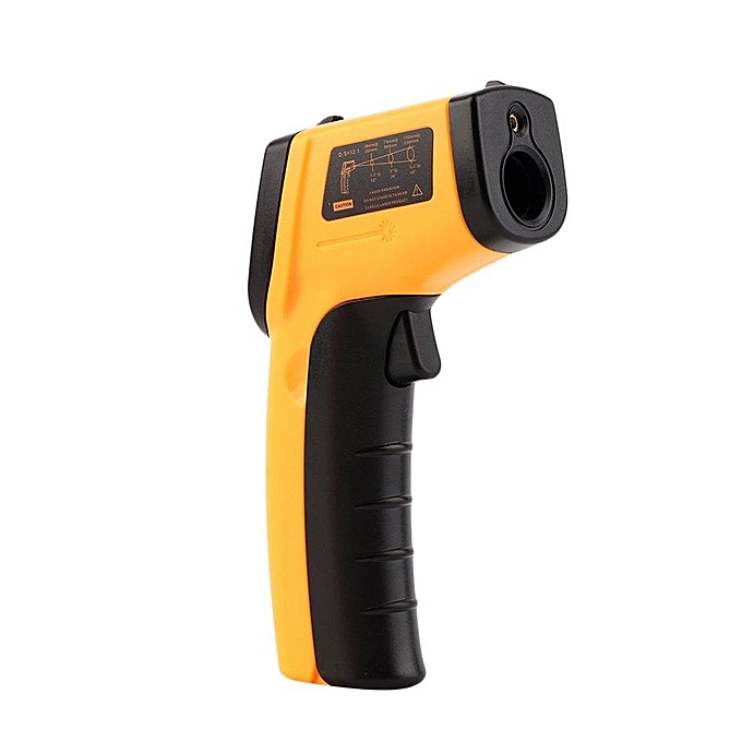 Other OH Non-Contact Digital LCD Infrarouge Thermometer IR Laser Temperature Thermal (jaune) FCJMALL à prix pas cher