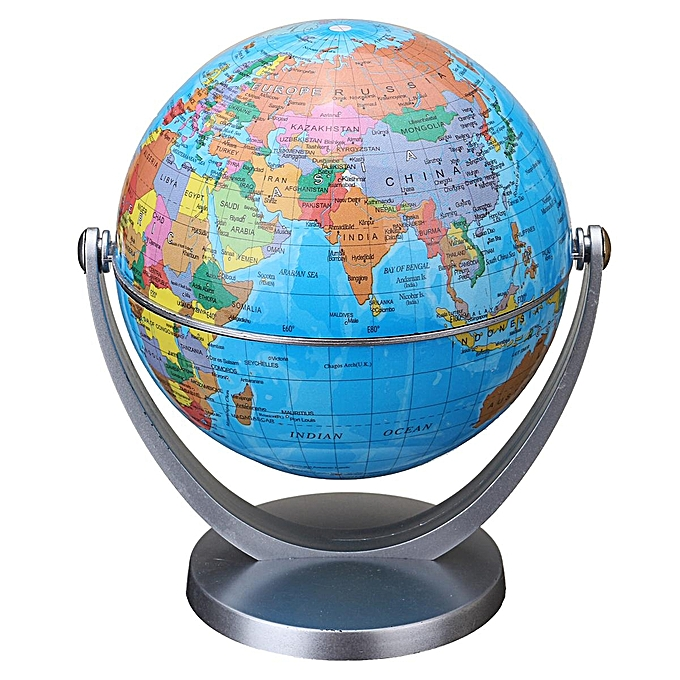 UNIVERSAL 360° rougeating Globes Earth Ocean Globe World Geography Map Desktop Decoration bleu globe à prix pas cher