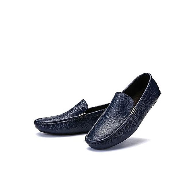 Zant Genuine Leather Men Formal chaussures British Style Loafers Slip-On à prix pas cher    Jumia Maroc