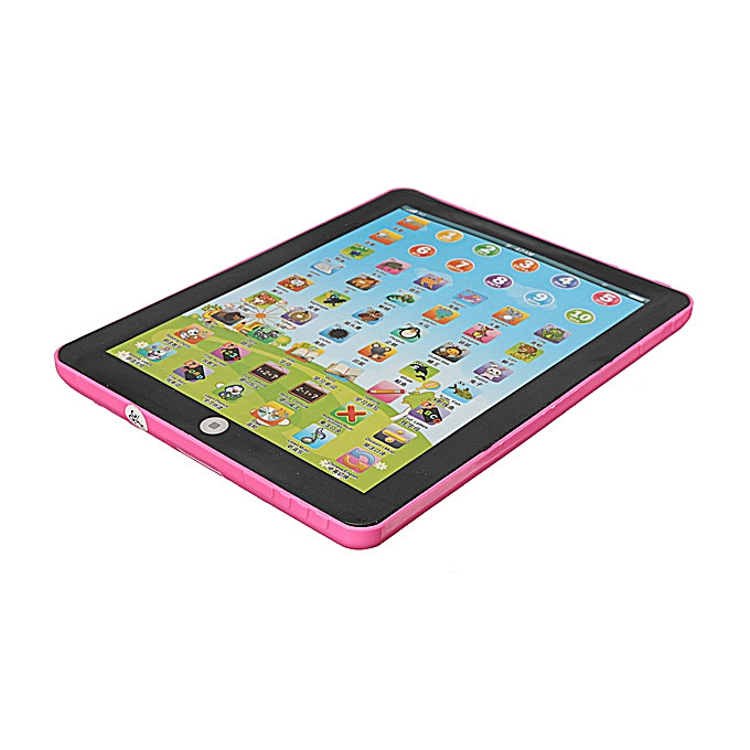 UNIVERSAL Enfant Pad Learning English Educational Mini Tablet Toy Teach rose à prix pas cher