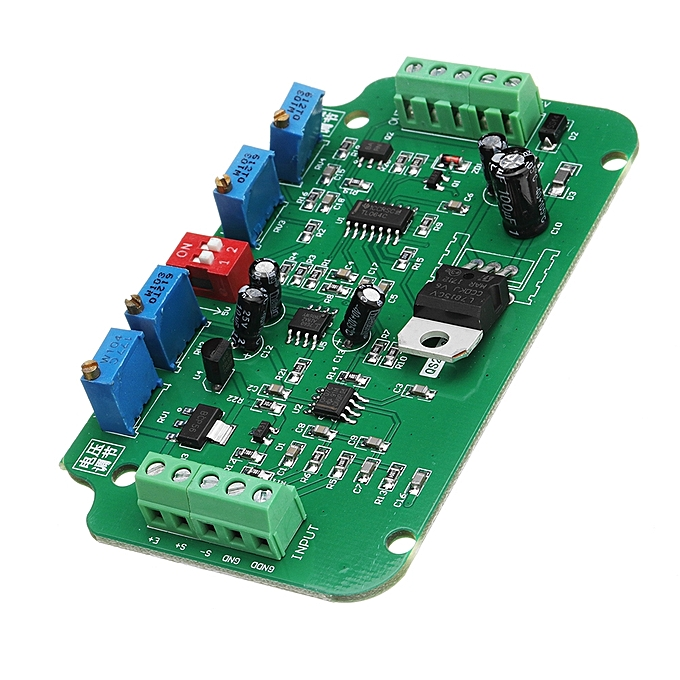 UNIVERSAL DC 12V To 24V 4-20MA Load Cell Sensor Amplifier Weighing Transmitter Voltage Current Converter à prix pas cher