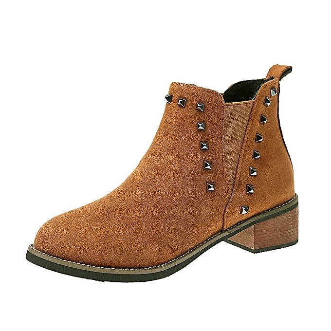 Autre Stylish Korean  WoHommes  Rivets Warm Martin à Boots à Martin prix pas cher  | Jumia Maroc e3d9bd