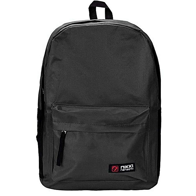 OEM femmes Hommes Student sac à dos School Shoulder sac à dos Handle sac noir à prix pas cher
