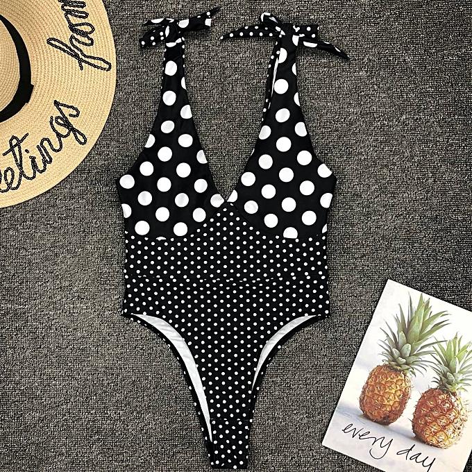 Other Bikini Swimming Suit For femmes  Bathing Suit One-piece Swimsuit Pure Deep V Backless Swimwear Maillot De Bain Femme(9222) à prix pas cher